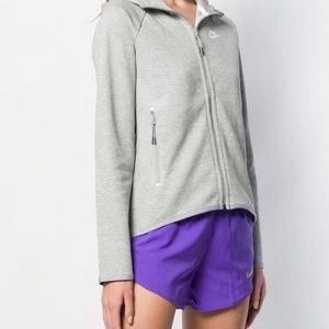 Nike Zip-Up Cape Hoodie